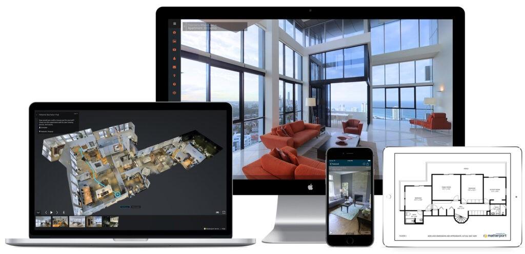 Wirtualny spacer 3D na urządzenia mobilne