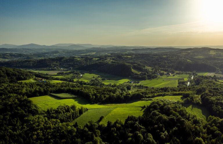 Małopolskie wsie i lasy