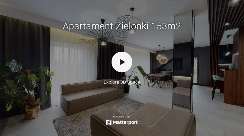 Wirtualny spacer po apartamencie Matterport