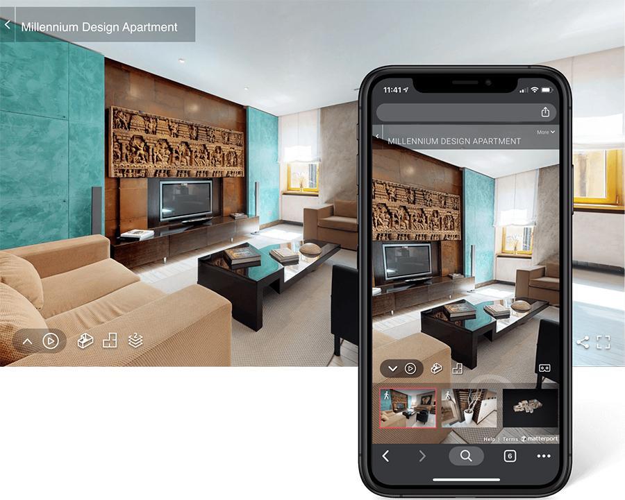Wirtualny Spacer na urządzeniach mobilnych