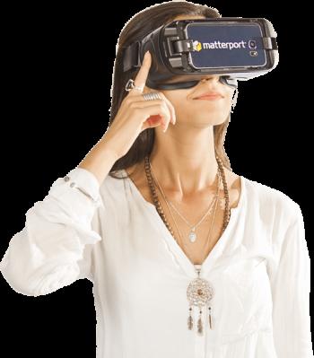 Wirtualny spacer w okularach VR